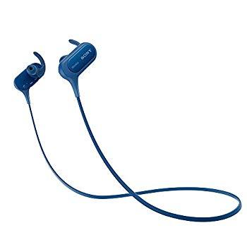 【中古】ソニー SONY ワイヤレスイヤホン MDR-XB50BS : 防滴/スポーツ向け Bluetooth対応 マイク付き ブルー MDR-XB50BS L