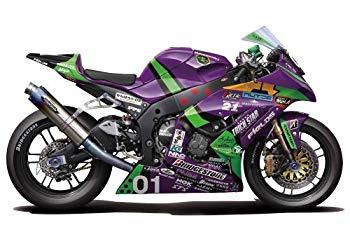 【中古】フジミ模型 1/12 バイクシリーズ No.10 エヴァ RT 初号機 トリックスター FRTR Kawasaki ZX-10R 2011画像
