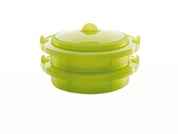 【中古】ルクエ スチーマー 2層同時調理 (蒸し料理専用) 62033