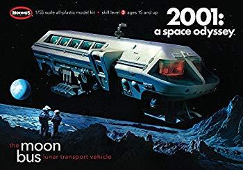 【中古】メビウス 2001年宇宙の旅 1/55 ムーンバス プラスチックモデルキット MOE2001-1R画像
