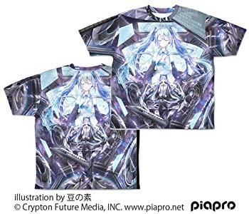 【中古】初音ミク 初音ミク Circulator 両面フルグラフィックTシャツ Lサイズ画像