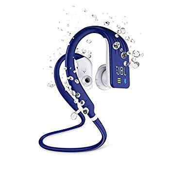 【中古】JBL ENDURANCE DIVE Bluetoothイヤホン IPX7防水/MP3プレーヤー1GB内蔵/タッチコントロール機能/ハンズフリー通話対応 ブルー JBLENDURDIVEBLU画像