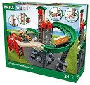 【中古】BRIO (ブリオ) WORLD ウェアハウスレールセット [ 木製レール おもちゃ ] 33887