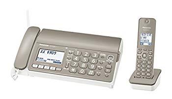 【中古】パナソニック おたっくす デジタルコードレスFAX 子機1台付き 1.9GHz DECT準拠方式 モカ KX-PD304DL-T