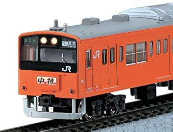 【中古】KATO Nゲージ 201系 中央線色 基本 6両セット 10-370 鉄道模型 電車
