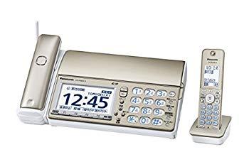 【中古】パナソニック おたっくす デジタルコードレスFAX 子機1台付き 1.9GHz DECT準拠方式 シャンパンゴールド KX-PD604DL-N