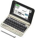 【中古】カシオ 電子辞書 エクスワード 生活・教養モデル XD-Z6500GD シャンパンゴールド 160コンテンツ
