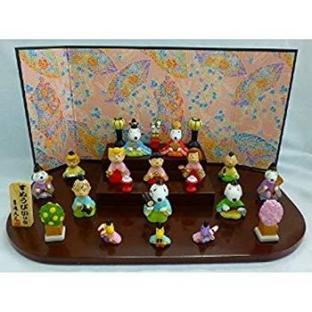 【中古】スヌーピー 段飾り 雛人形