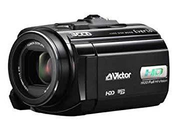 【中古】JVCケンウッド ビクター 60GBハイビジョンハードディスクムービー ブラック GZ-HD5-B