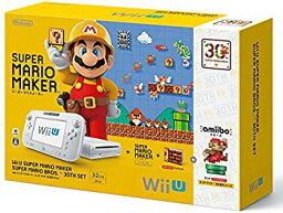 【中古】【数量限定】Wii U スーパーマリオメーカー スーパーマリオ30周年セット