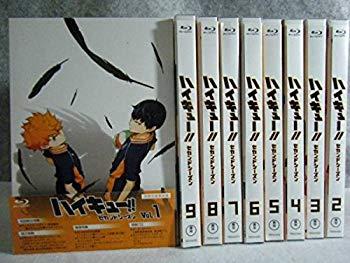 【中古】中古美品 ブルーレイ ハイキュー2期 セカンドシーズンBD 全巻 初回版    DVD BOX 1期可能