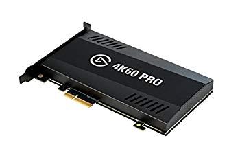 【中古】Elgato Game Capture 4K60 Pro - 4Kでゲームをキャプチャー PS4 ProXbox OneX gameplay PCIe x4 10GAG9901 【日本正規代理店品】