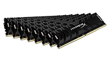 【中古】キングストン Kingston デスクトップPC用メモリ DDR4-3000 16GBx8枚 HyperX Predator CL15 1.35V HX430C15PB3K8/128 永久保証