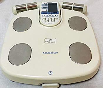 【中古】OMRONオムロン 体重体組成計HBF-903 体重計 両手両足測定式 基礎代謝体脂肪率から内蔵脂肪までチェック