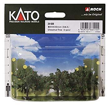 中古 KATONゲージ栗の木40mm3本入24-089ジオラマ用品