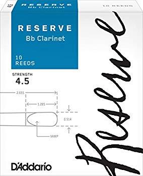 木管楽器用アクセサリー・パーツ, リード DAddario B :4.5(10) DCR1045