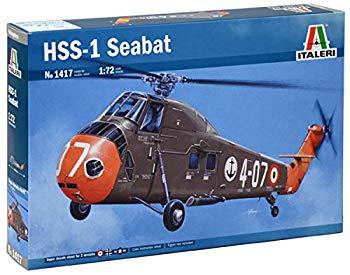 【中古】タミヤ イタレリ 1/72 ヘリコプターシリーズ No.1417 HSS-1 シーバット プラモデル 38417画像
