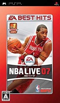 【中古】EA BEST HITS NBAライブ 07 - PSP