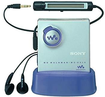 ポータブルオーディオプレーヤー, ポータブルMDプレーヤー SONY MZ-E510 S MD ()