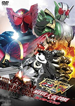 Kamen Rider ooo DVD () OOOW feat. MOVIECORE DVD