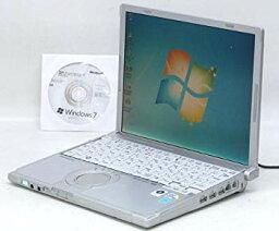 【中古】パナソニック(Panasonic) パナソニック 中古 ノートパソコン/レッツノート【CF-T8】Panasonic CF-T8GW1AAS Win7Pro(MRR)付 Let's NOTE(レッツノ