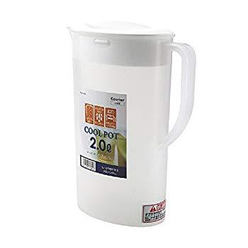【中古】パール金属(PEARL METAL) 日本製 お茶 麦茶 ポット 2.0L クールポット クーリア H-5304