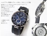 エルブラン販売数NO.1の人気モデルが、よりスマートにリニューアルされました【MICHELHERBELIN】NewportChrono〜ニューポートクロノグラフ〜42.5mm・クォーツ腕時計【36656/AN65】フランス製