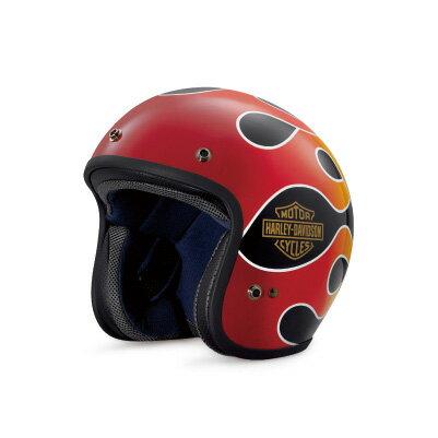バイク用品, ヘルメット tArai Helmet Meets H-D SpiritRetro Flame 34 Helmet :98136-18JX
