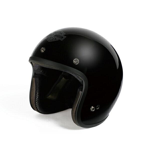 純正品 アライハーレーヘルメット・AraiHelmetMeetsH-DSpirit・3/4SolidVividBlack・ジェ