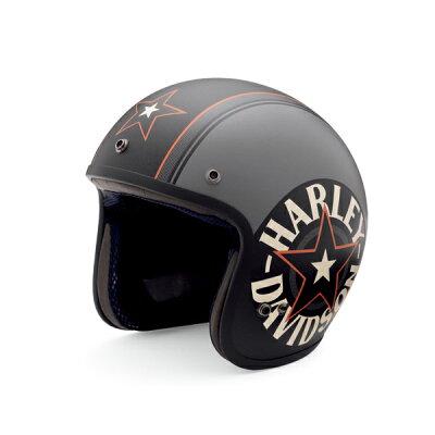 【純正品】アライヘルメット・Arai Helmet Meets H-D Spirit・3/4 REDSTAR GREY・ジェットヘルメット レッドスター グレイ:98327-14VA