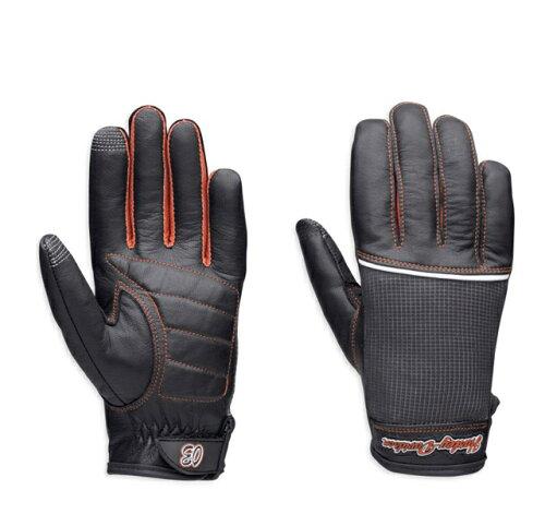 HARLEY-DAVIDSON◆ハーレーダビッドソン・レディース・Finish Line Full-Finger Gloves...