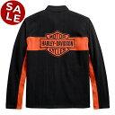 「セール」【純正品】HARLEY-DAVIDSON◆ハーレーダビッドソン・Men's Chest Stripe Activewear Jacket・フリースジャケット・チェストストライプ アクティブウェアジャケット・メッシュの裏地付き:99087-20VM