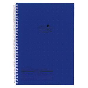 リヒトラブ AQUA DROPs ツイストノート セミB5判(藍)