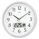 【¥5,250以上送料無料】21%OFF★掛時計レビューでポイント10倍・シチズン 掛時計 ネムリーナカレンダーM02