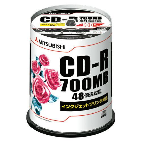エントリーでポイント+5倍 14日20時より/三菱化学メディア PC DATA用 CD-R