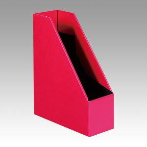 エトランジェ・ディ・コスタリカ マガジンボックス ソリッド2 A4ファイルボックス オフィス 収納 A4タテ型 98X252X310mm(ピンク)