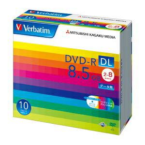 三菱化学メディア PC DATA用 DVD-R DL〈2層式〉2-8倍速対応