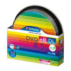 三菱化学メディア PC DATA用 DVD+R DL〈2層式〉2.4-8倍速対応