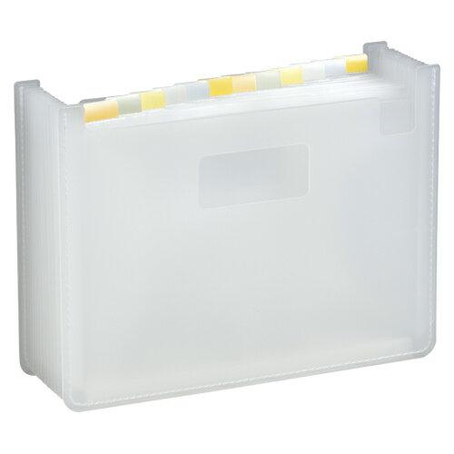 セキセイ セマック ドキュメントスタンド 書類 収納 コンパクト 大きさ調整 書類整理 オフィス A4判 ヨコ型 13ポケット(ホワイト)