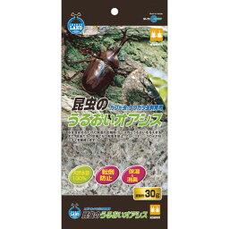 マルカン 昆虫のうるおいオアシス 30g ペット用品 昆虫 消臭 保湿 マット 飼育