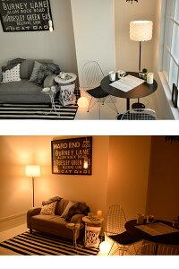 間接照明寝室