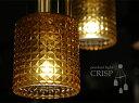 【代引き手数料・送料無料】ガラスペンダントライト3灯-CRISP(AG/CC/CG)-【インテリア照明,天井...