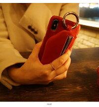 【XXS共通】エジューajew通販ajewcadenaszipphonecaseDOUBLEHEART別注iphoneXiphoneXSiphoneケースケース小銭入れカードケースプレゼント限定da2018001xメール便