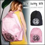 littlesunnybiteリトルサニーバイト2月下旬予約CORDURALSBbackpackコルドラLSBバックパックレディースバッグ鞄バックパックリュックロゴ通勤通学旅行a4LSB-LG-055G