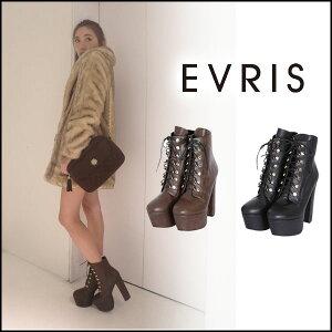 EVRIS エヴリス レースアップブーツ 通販EVRIS エヴリス レースアップブーツ(11月下旬予約)ブー...