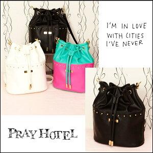 ☆2014 Springコレクション☆プレイホテル[pray hotel]プレイホテル[PRAY HOTEL]リュックにもシ...