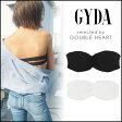 ジェイダ GYDA ワイド2ラインブラTOP レディース ブラトップ ベアトップ 無地 インナー パッド 見せブラ 白 黒 シンプル ブランド 071743229401