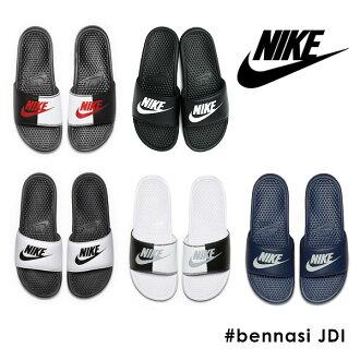 耐吉NIKE sunikaredisubenasshi JDI鞋鞋低切平地petanko涼鞋運動馬拉松健身房瑜伽舒服涼鞋郵購(正規的物品)(343880)