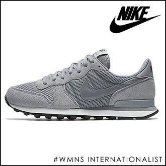 耐克 (NIKE) 運動鞋存儲體育馬拉松真正 828407 的耐克女裝國際主義女士鞋運動鞋女鞋低切平 pettanko pettanko