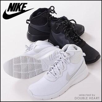 丹戎耐克 (NIKE) 運動鞋存儲耐克女裝高冬季婦女女裝鞋運動鞋鞋高切的靴子靴子平 pettanko pettanko 體育馬拉松真正 861672